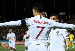 Kết quả vòng loại Euro 2020 đêm qua (11/9): Ronaldo lập poker mở màn đại tiệc