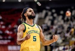 """Patty Mills """"cháy như bó đuốc"""", Úc vào bán kết FIBA World Cup đầu tiên"""