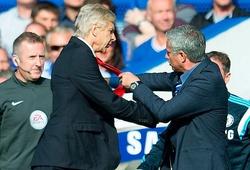 Wenger và Mourinho thù địch ngay sau lần gặp đầu tiên