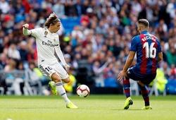 Xem trực tiếp Real Madrid vs Levante ở đâu, kênh nào?