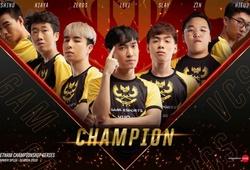 Kết quả Chung kết VCS Mùa Hè 2019: GAM lên ngôi vô địch đầy thuyết phục (3-0)