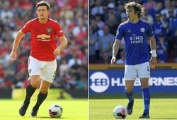 Maguire ở MU có tốt hơn các trung vệ đã thay thế mình tại Leicester?