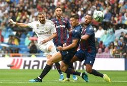 Kết quả Real Madrid vs Levante (3-2): Bezema tỏa sáng, Kền kền trắng áp sát ngôi đầu