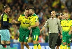 Pep Guardiola thừa nhận sai lầm khiến Man City thua sốc Norwich
