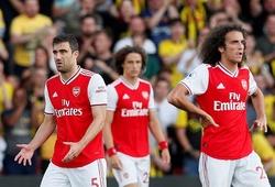Arsenal chịu thảm họa phòng ngự trước Watford với chỉ số khủng khiếp
