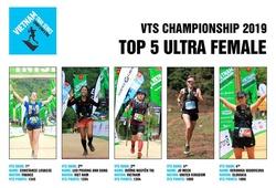 5 nữ VĐV ultra dẫn đầu bảng điểm Vietnam Trail Series trước thềm VMM 2019