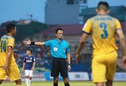 Trọng tài ngoại sẽ xuất hiện ở những vòng đấu cuối V.League 2019