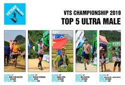 Top 5 nam VĐV ultra tiềm năng giành danh hiệu Vietnam Trail Series 2019
