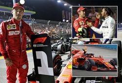 Singapore Grand Prix: Charles Leclerc chiếm pole trước Lewis Hamilton lần thứ 3 liên tiếp