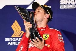 Singapore Grand Prix: Sebastian Vettel chiến thắng sau 392 ngày chờ đợi