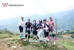 Vietnam Mountain Marathon 2019 rực rỡ hơn nhờ vẻ đẹp của những giai nhân chạy