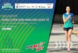 Chạy bộ mỗi ngày: Chuyên gia ngoại của VPBank Hanoi Marathon huấn luyện VĐV