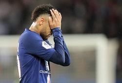Neymar bất lực, PSG muối mặt trên sân nhà trước người tí hon Reims