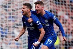 """Jorginho """"tranh"""" đá phạt đền với Barkley giúp Chelsea thắng Brighton"""