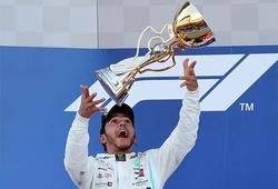 Lewis Hamilton vô địch Grand Prix Nga, Ferrari lại xung đột nội bộ