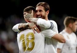 Cúp C1 đã giúp Real Madrid cải thiện hàng thủ đáng kinh ngạc
