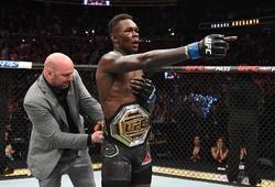 Nhà vô địch tạm thời Israel Adesanya của hạng cân trung UFC là ai?