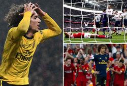 """Arsenal trải qua 5 năm kinh hoàng trên sân nhóm """"Big Six"""" Ngoại hạng Anh"""