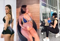 Đại sứ Vietnam Fitness Model giảm 17kg sau 3 tháng sinh con nhờ tập gym