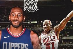 Kawhi Leonard thời trung học từng được so sánh với Dennis Rodman