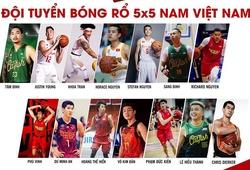 Danh sách ĐT bóng rổ Việt Nam tại SEA Games 30: Không ít bất ngờ