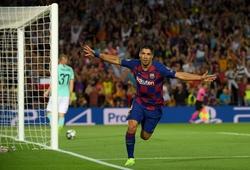 Suarez cần ghi 3 bàn vào lưới Sevilla để khắc tên vào lịch sử Barca