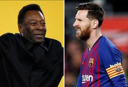 Messi bắt đầu cuộc săn lùng kỷ lục của Pele