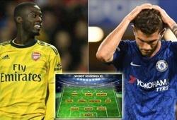 Bom tấn Arsenal và Chelsea lọt đội hình tân binh tệ nhất Ngoại hạng Anh