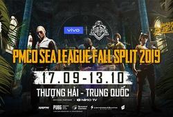 Kết quả PMCO SEA League Mùa Thu 2019 ngày 9/10