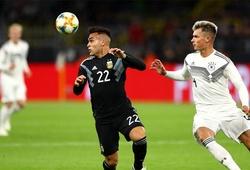 Vắng Messi, Argentina nhọc nhằn cầm hòa Đức