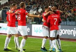 Bảng xếp hạng vòng loại Euro 2020: Anh vững vàng ở vị trí số 1