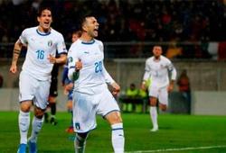 Bảng xếp hạng vòng loại Euro 2020: Italia tiếp mạch trận toàn thắng