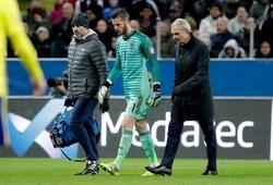CĐV MU phản ứng với chấn thương De Gea trước trận gặp Liverpool