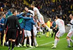 ĐT Tây Ban Nha giành vé dự Euro 2020 với kỳ tích trong 28 năm