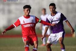 Xác định 4 đội bóng vào bán kết giải U21 Quốc gia 2019