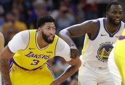 Kết quả NBA Preseason ngày 17/10: Warriors lại thất thủ trước Lakers