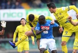 Xem trực tiếp Napoli vs Verona trên kênh nào?