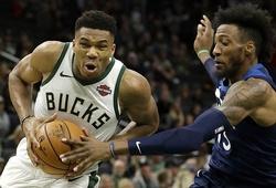Đả bại Timberwolves, Milwaukee Bucks lập thành tích toàn thắng tại NBA Preseason