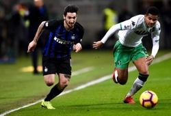 Soi kèo Sassuolo vs Inter Milan, 17h30ngày 20/10 (Serie A 2019/2020)