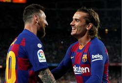 Kết quả Eibar vs Barca (0-3): Lên đỉnh cùng tam tấu Messi - Griezmann - Suarez