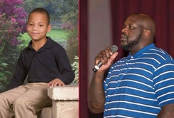 Shaquille O'Neal giúp đỡ cậu bé khuyết tật làm ấm lòng người hâm mộ