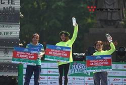 Tự thưởng ngày 20-10, các VĐV nữ áp đảo giải thưởng tại VPBank Marathon 2019