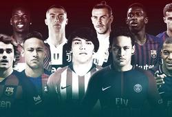 Ngôi sao Barca lọt Top 3 cầu thủ đắt giá nhất thế giới