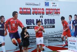 """Ahn Jung Hwan và dàn sao HPL ghi """"cơn mưa"""" bàn thắng ở trận đấu thiện nguyện"""
