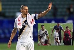 Ibrahimovic gây tranh cãi với hành động phản cảm khi chia tay LA Galaxy