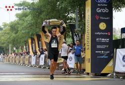 Đánh bại tuyển thủ quốc gia, Lê Quang Hòa chinh phục Longbien Marathon 2019