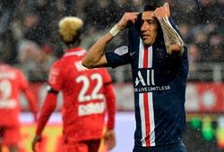 Bảng xếp hạng Ligue 1 vòng 12: PSG thua sốc,nguy cơ bị bám đuổi