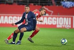 PSG thua ngược đội cuối bảng Dijon trong ngày Mbappe nổ súng