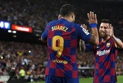 Song sát Messi - Suarez của Barca là cơn ác mộng cho Levante