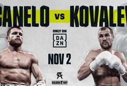 TRỰC TIẾP Quyền Anh: Canelo thắng KO Kovalev